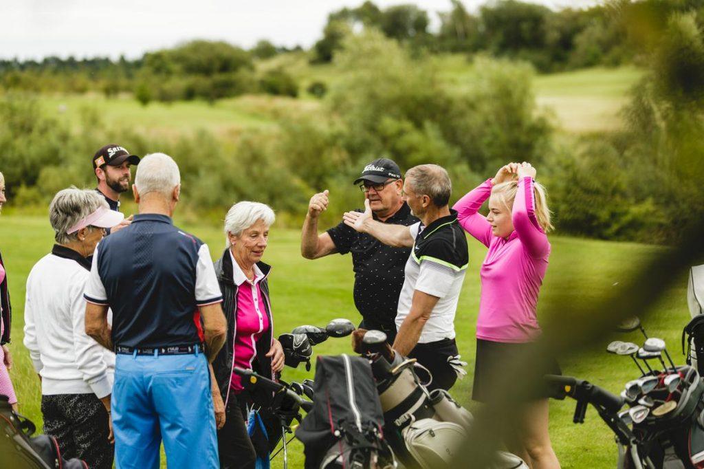Begyndergolf prøvemedlem golfkursus i Benniksgaard Golf Klub