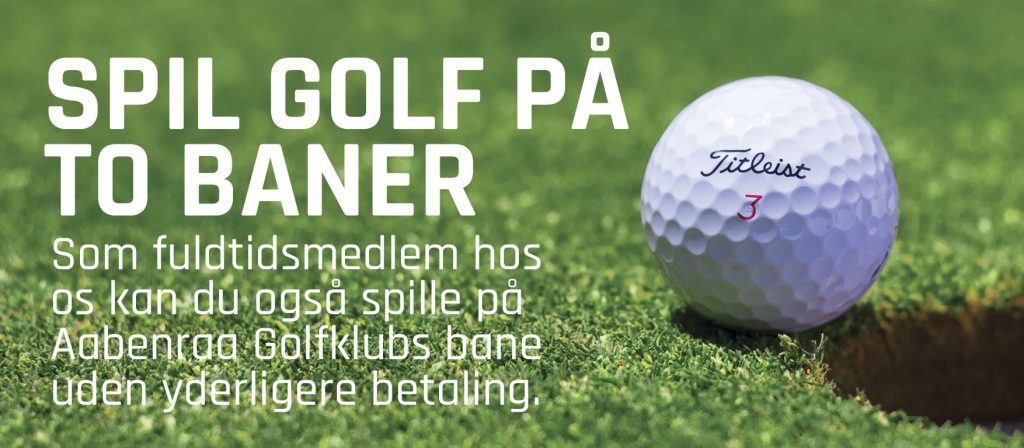 Spil golf på to baner