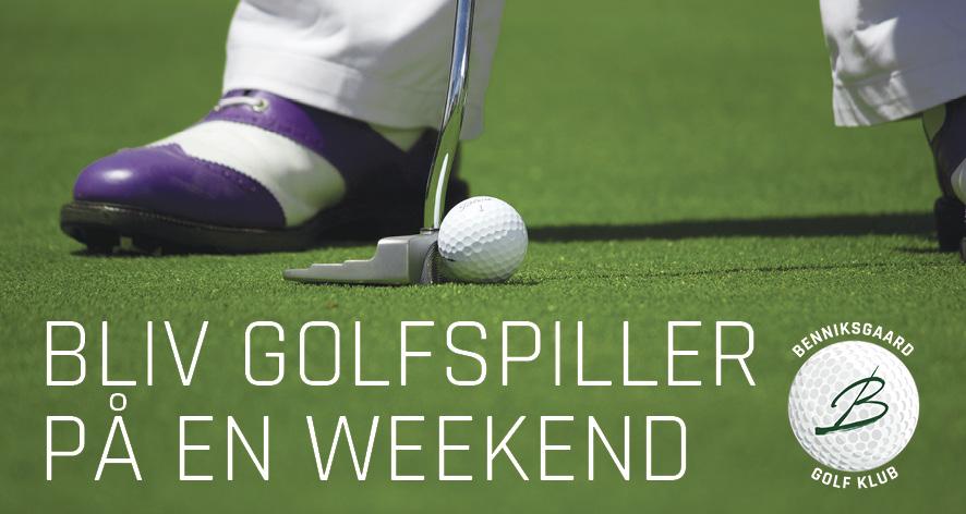 Bliv golfspiller på en weekend i Benniksgaard Golf Klub