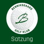Satzung Benniksgaard Golf